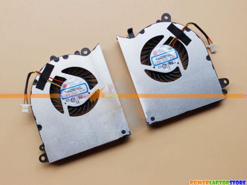 GPU Cooling Fans New MSI GS60 2PC 2PL GS60 2QC GS60 2QD 2QE GS60 6QE 6QC CPU