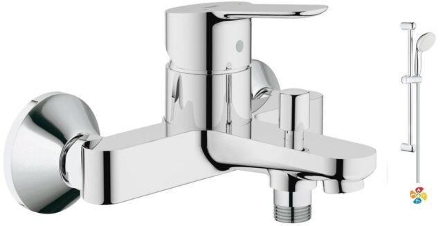 Grohe 23334 BauEdge Single Lever Mono Bath Shower Mixer Tap 27799 Head Set Kit