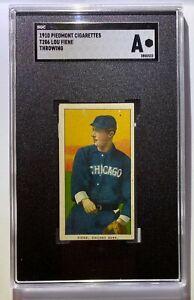 LOU FIENE T206 PIEDMONT CHICAGO WHITE SOX PITCHER SGC AUTHENTICATED