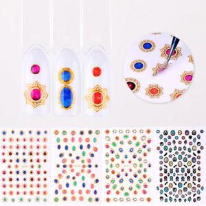 5D-Nagel-Aufkleber-Abziehbilder-Transfer-Nail-Art-Decals-3D-Dekoration-DIY