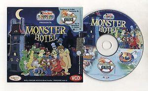 Cartone animato vcd video cd monster hotel kinder ferrero pc no