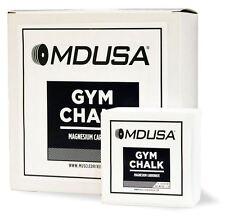 MDUSA GYM CHALK WeightLifting PowerLifting 1 LB - IMPROVE GRIP (8 x 2 oz blocks)