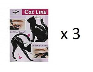 Classic-Beauty-CAT-LIN-Occhio-Trucco-esercitazione-confezione-da-3