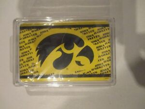 Iowa-Hawkeyes-Collectible-Deck-of-Playing-Cards-w-Free-ship