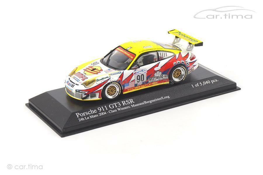 PORSCHE 911 (996) gt3 rsr24h Le Mans 2004 maestro di montagna-Minichamps 1:43 40004699