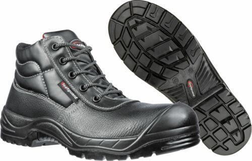 footguard COMPACT MID S3 Sicherheitsschuh mit Kunststoffkappe schwarz