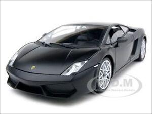 Lamborghini Gallardo Lp560 4 Matt Black 1 18 Diecast Car Model By