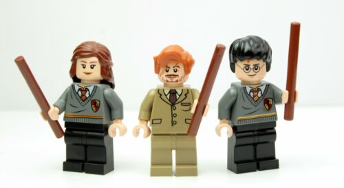 and Hermione Lot of 3x Minifigures Harry LEGO Harry Potter 4842//4867 Lupin