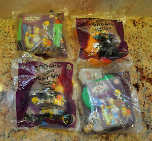 THE-SIMPSONS-BURGER-KING-SPOOKY-LIGHT-UPS-HALLOWEEN-SET-OF-4-SEALED