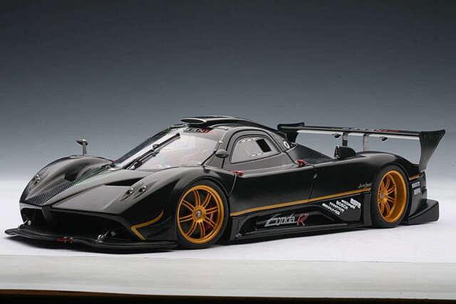 pagani zonda r carbon fiber pattern 1 18 diecast car autoart 78261 rh ebay com