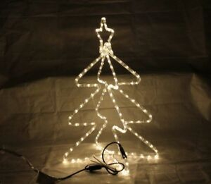 Weihnachtsbeleuchtung Figuren Led.Details Zu Led Tannenbaum 3d Figur Lichtschlauchfigur Dekofigur Weihnachtsbeleuchtung Wd18