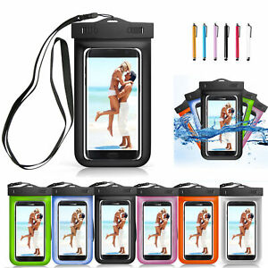 Waterproof-Phone-Pouch-Bag-Underwater-Dry-Case-Cover-For-Apple-iPhone-6-7-8-X-US