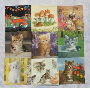 LOT-DE-13-SERVIETTES-PAPIER-034-CHATS-034
