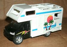 "1/45 Scale Camper Van Diecast Model - Pull Friction RV Toy 5"" Kinsfun 5252 Truck"