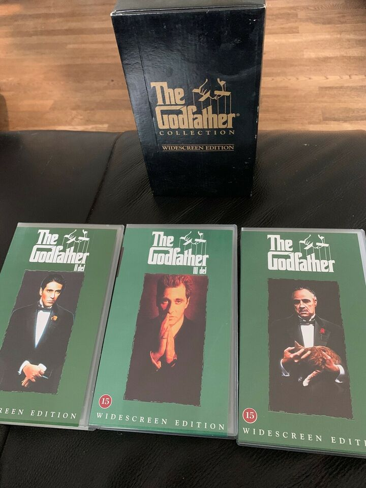 Action, the godfather collection widescreen edition vhs