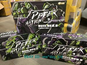 Set ABC Transformation toy JINBAO Bulider Oversized Devastator Action Figure
