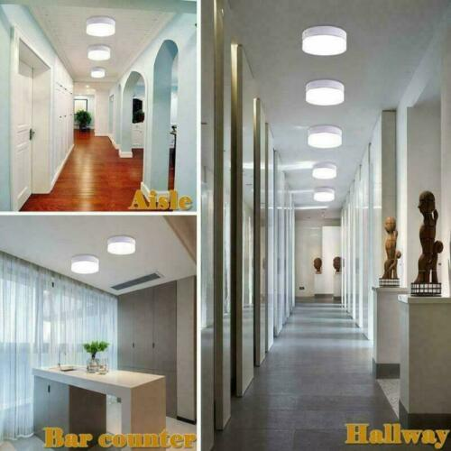 48W 36W 24W LED Ceiling Light Ultra Thin Flush Mount Kitchen Round Home Fixtures