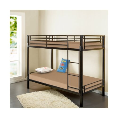 Twin Khaki Zinus Memory Foam 5 Inch Bunk Bed//Trundle Bed//Day Bed//Mattress