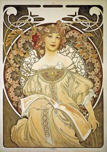 A3 A2 Art NouveauPulp FictionVintage Film PosterA1