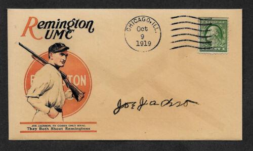 Joe Jackson Remington Ad Collector Envelope Original Period 1919 Stamp OP1115