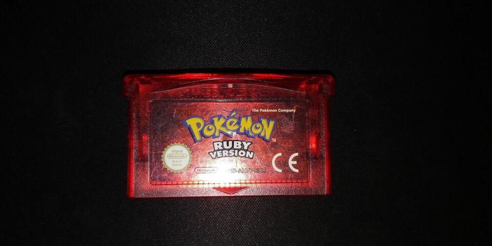 Pokemon Ruby Version, Gameboy Advance, rollespil