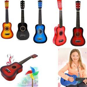 6-String-Guitare-acoustique-Jouet-Musicaux-Cadeau-Pour-Enfant-Bebe-21-039-039