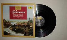 """Schumann–Sinfonia N.3-Ouverture """"Manfred"""" – Disco Vinile 33 Giri LP ITALIA 1986"""