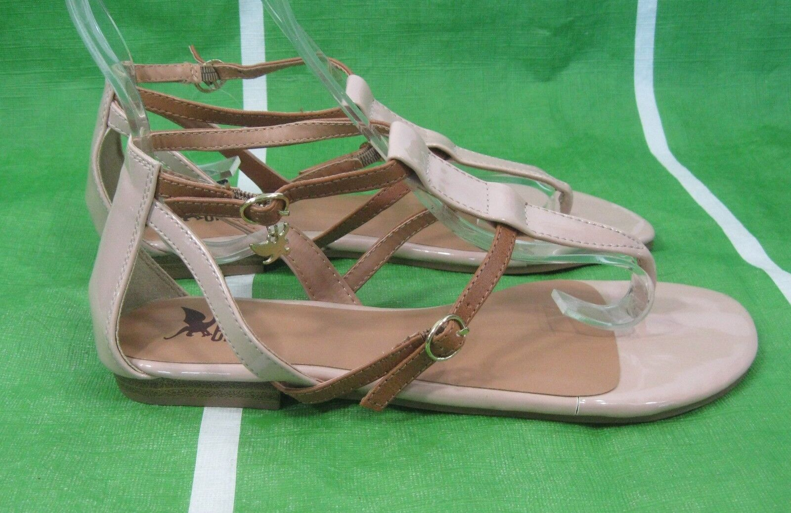 new ladies Womens Skintone /BROWN  Summer  Sexy Sandal  /BROWN shoes Size 6.5 5d43e7