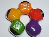 Donut Hub Card Reader/writer Micro Sd M2 Usb 2.0 Cool