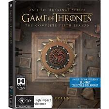 Game of Thrones - Season 5 (Steelbook) (Blu-ray, 2017) (Region B)
