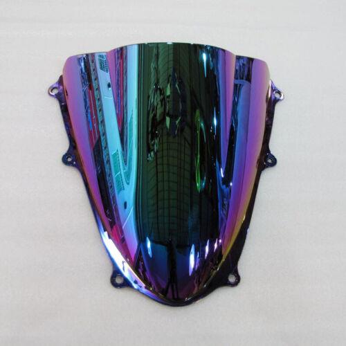 5 Color For 2009-2016 Suzuki GSXR GSX-R 1000 K9 Windshield Screen Double bubble