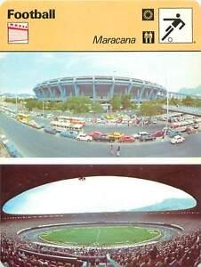 FICHE-CARD-Stade-Maracana-Brezil-Rio-de-Janeiro-FOOTBALL-1970s