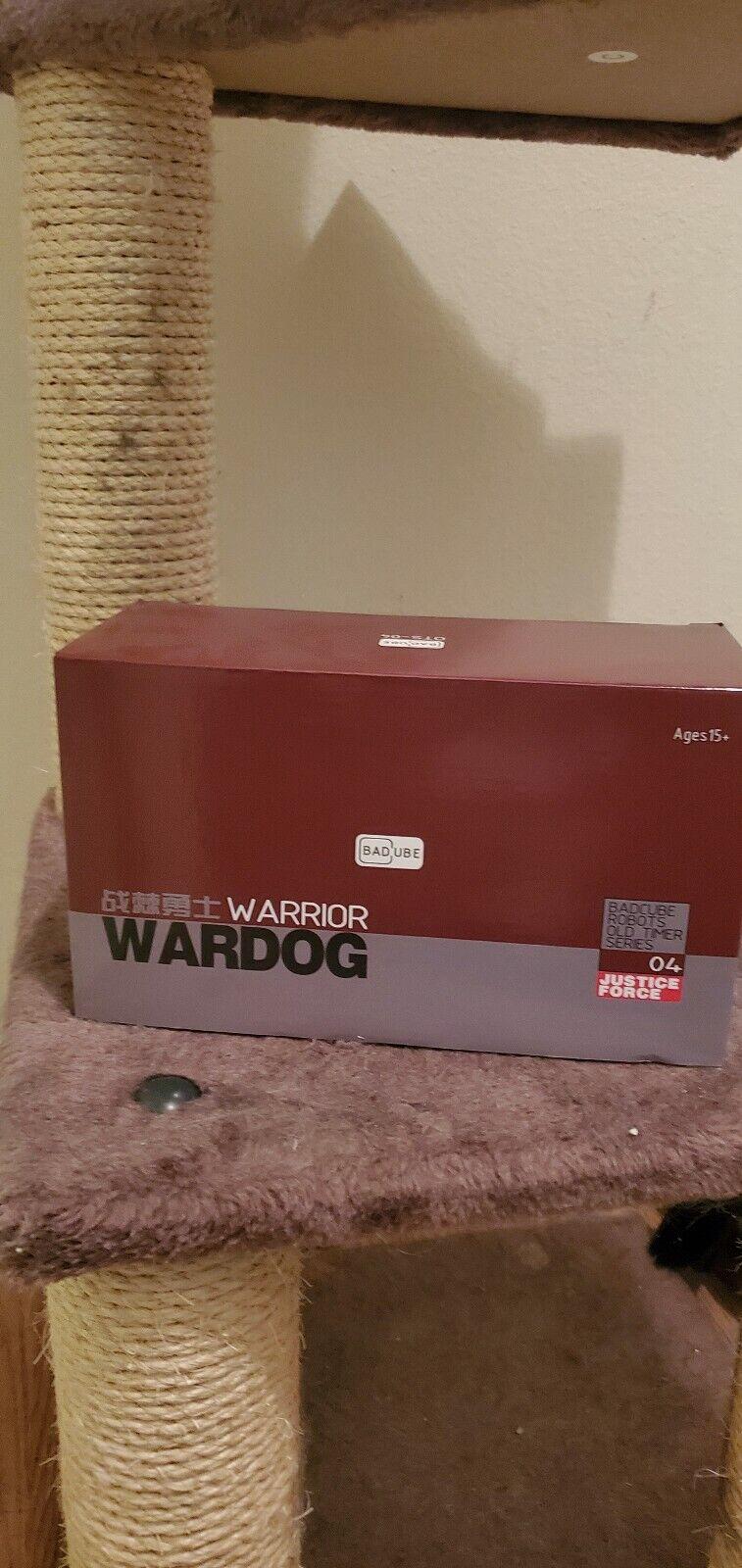 Badcube OTS04 WARDOG MITRAGLIATRICI piede di guerra Transformers noi venditore