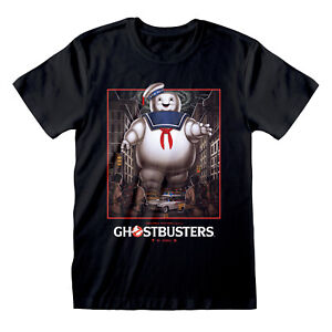 Official-Ghostbusters-Stay-Puft-Square-T-Shirt-Classic-Movie-Poster-S-M-L-XL-XXL