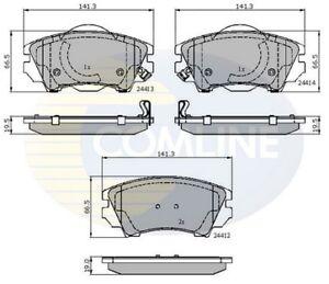 Comline-Front-Brake-Pad-Set-CBP31680-BRAND-NEW-GENUINE-5-YEAR-WARRANTY