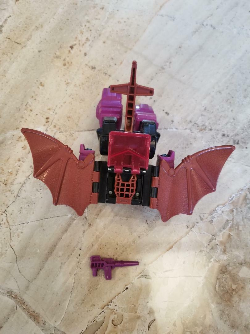 VINTAGE VINTAGE VINTAGE Mindwipe 1987 Hasbro G1 Transformers Action Figure and Accessory 18fca7