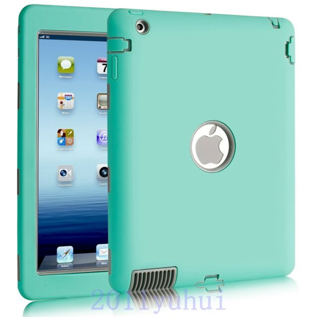 For Apple iPad 2/3/4 New Shockproof Dustproof Heavy Duty Armor Hard Case Cover