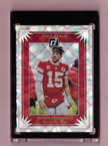 PATRICK-MAHOMES-REFRACTOR-DONRUSS-ELITE-SERIES-SPECIAL-INSERT-2019-CHIEFS-Mint