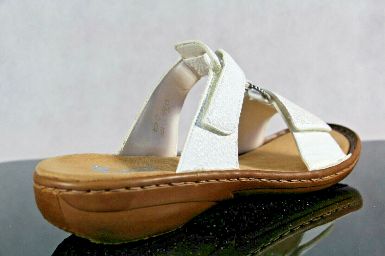 Rieker Sandali Ciabatte Pantofola Bianco 60885 Nuovo Nuovo Nuovo fab438