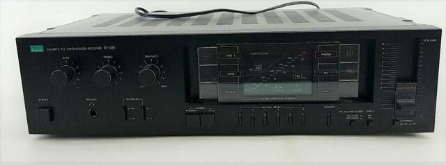 Sansui Quartz PLL Synthesizer Receiver R-505