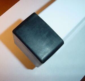 4 Ea Rubber External End Cap Covers For 2 X 2 Square