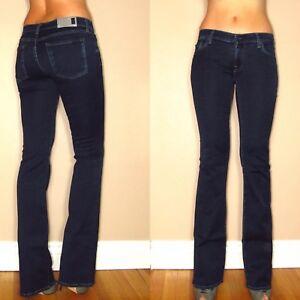 For Nuovo Aderente In Jeans Rich Svasati Mankind Scuri Donna 7 Gomma All XqwRUw5r