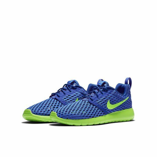 damen Nike Roshe One Flight Weight GS Neu Gr 38 Turnschuhe Free Presto Blau Grün