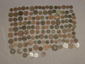 138 x Fundgrube historische Münzen u.a. Kreuzer Thaler - Inhalt siehe Fotos  MA3