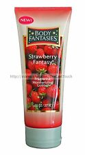 BODY FANTASIES Fragrance STRAWBERRY FANTASY 7 oz Moisturizing LOTION Shea Butter