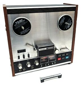 Vintage TEAC 3300S Stereo Reel to Reel Tape Recorder - AS-IS For Parts or Repair