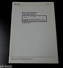Werkstatthandbuch Audi 100 C4 TDI Diesel Direkteinspritzanlage / Vorglühanlage