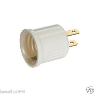 Plug In OUTLET SOCKET ADAPTER plug to Light bulb NEW eBay