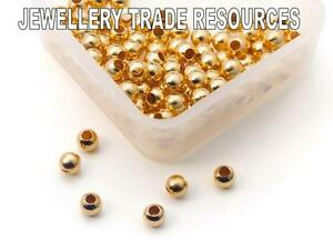 LARGE 2.2mm GOLD PLATED STERLING SILVER CRIMP TUBES BEADING /& PEARL CRIMPING