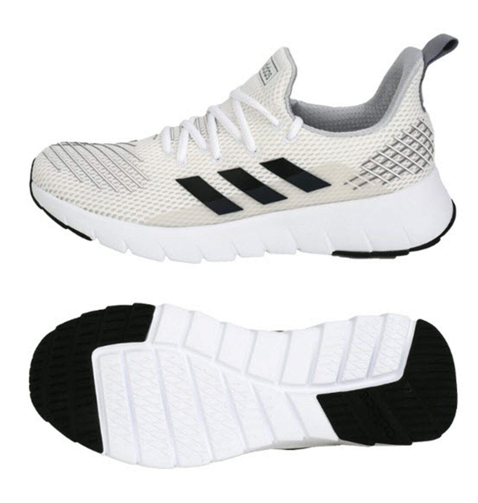 Adidas Men Asweego shoes Running White Sneakers Boot Casual GYM shoes F35445